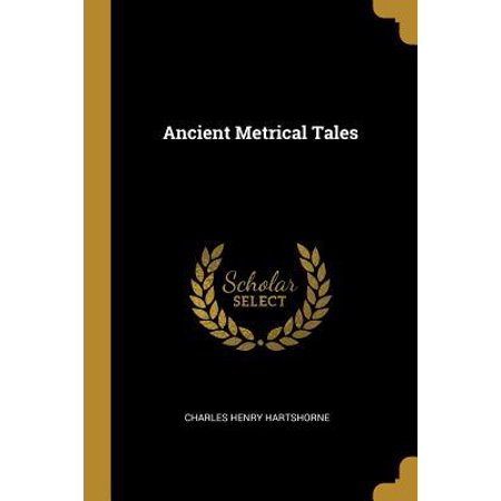 Ancient Metrical Tales Paperback