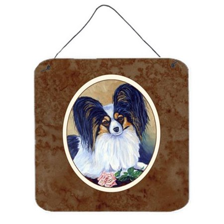 Papillon a Rose for You Wall or Door Hanging Prints