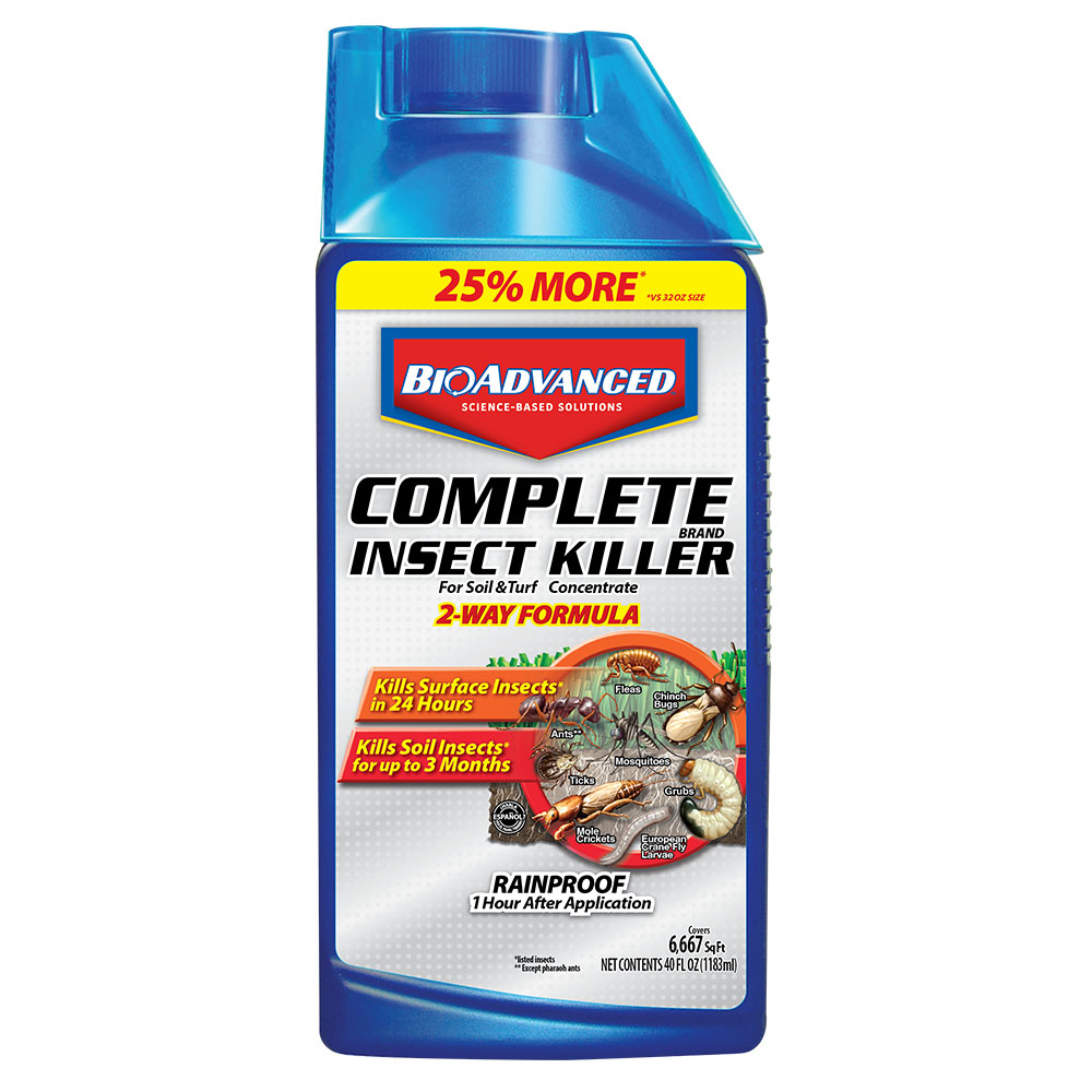 Bioadvanced Complete Insect Killer For Soil And Turf Concentrate 40 Oz Walmart Com Walmart Com
