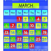 Scholastic Monthly Calendar Pocket Chart Add-on Cards