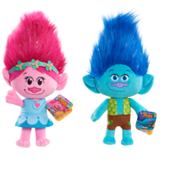 Trolls Bean Plush  Poppy & Branch  2 Pack Bundle