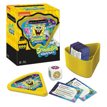 Spongebob Squarepants Halloween Games Nick (Trivial Pursuit SpongeBob Squarepants Trivia)