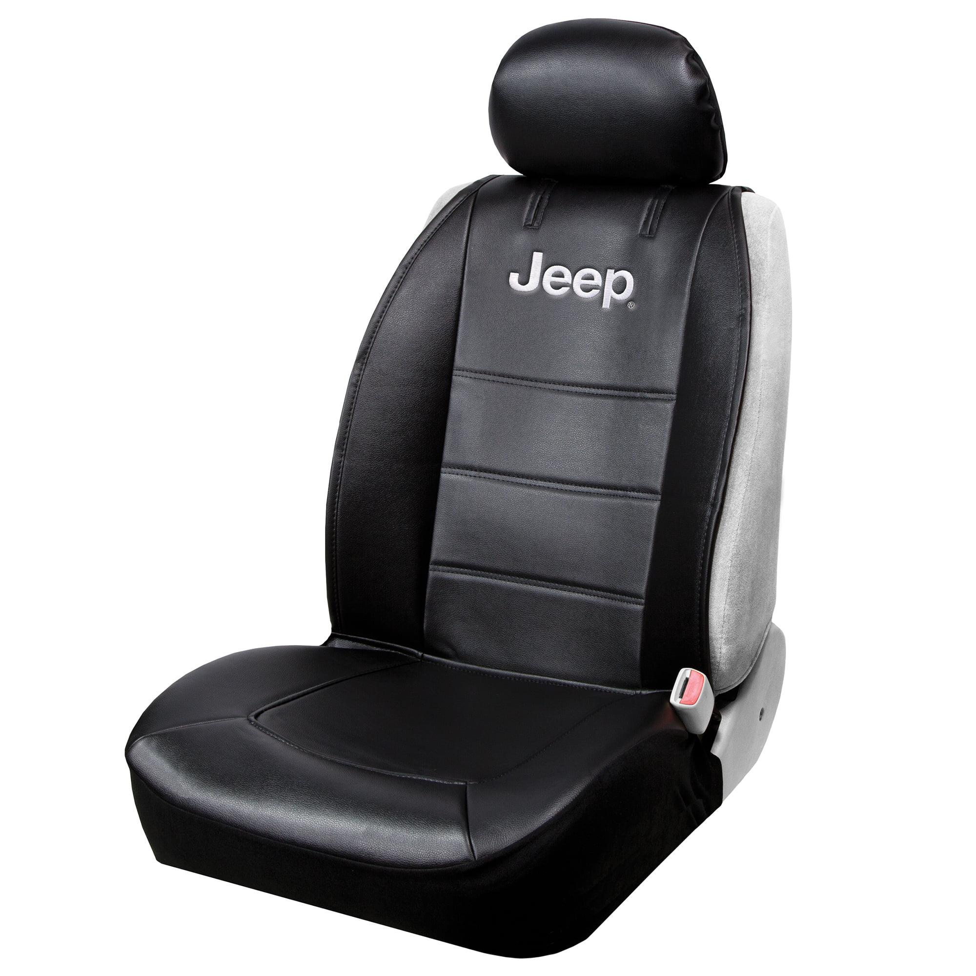 Jeep Seat Covers >> Plasticolor Jeep 3 Piece Black Sideless Seat Cover Walmart Com