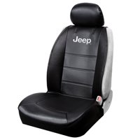 Plasticolor Jeep 3-Piece Black Sideless Seat Cover