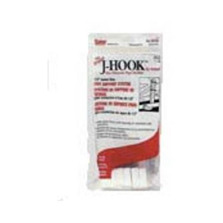 J-hook Pipe Holder - Oatey 33764 6-Pk. .5 x 4-In. Copper Tube Size Baby J-Hook Pipe Holder