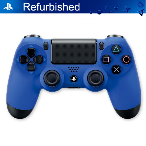 Dualshock 4 Controller PS4, Blue Sony Playstation 4 (Refurbished)