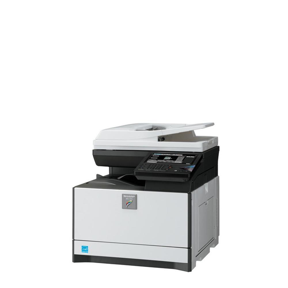 Refurbished Sharp MX-C422W A42 Color Laser Multifunction Copier - 42ppm,  Print, Copy, Scan, Fax, Auto Duplex, Network, 42 x 42 dpi, 42 Tray -