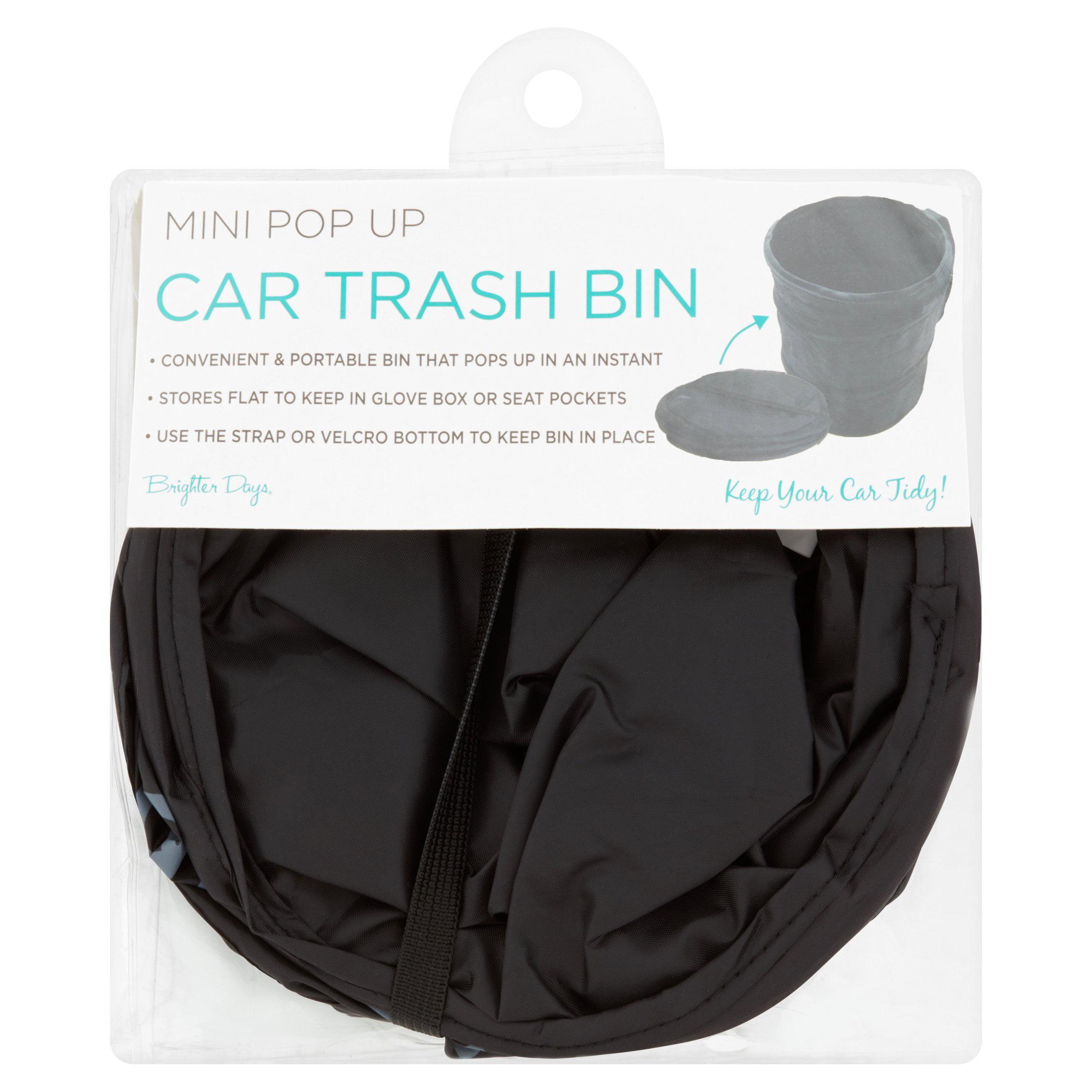 Brighter Days Mini Pop Up Car Trash Bin by Morgan Home Fashions