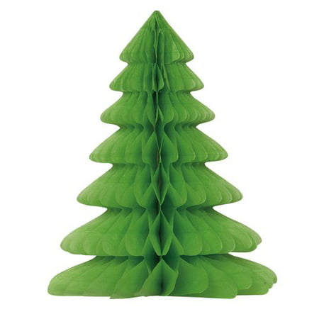 (3 pack) Christmas Tree Centerpiece Decoration, 12 in - Frozen Center Pieces