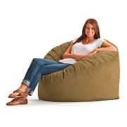 Original FUF Chair 3 ft. Wide-Wale Corduroy Bean Bag Lounger - Coffee