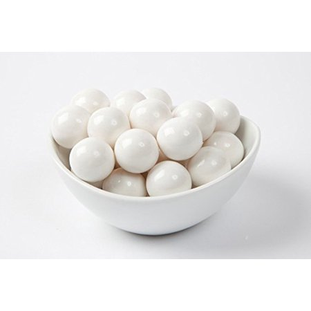 Gumball Tubes (GUMBALLS WHITE 25mm or 1 inch (57 count),)