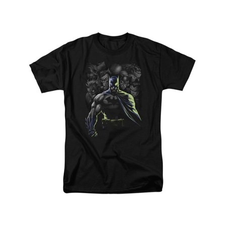 Batman DC Comics Villains Unleashed Adult T-Shirt Tee - Batman's Villains