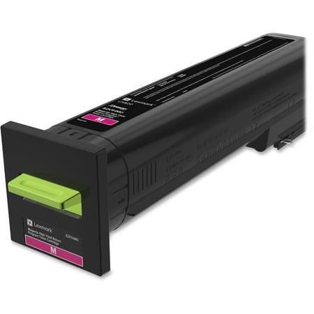 Lexmark, LEX82K1HM0, CX82 Return Program High Yield Toner Cartridge, 1 Each