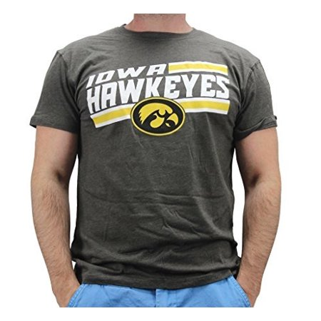 4th and 1 Men's Iowa Hawkeyes Bar Style T Shirt