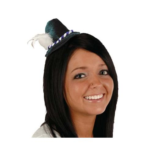 Oktoberfest Mini Alpine Hat Hair Clip