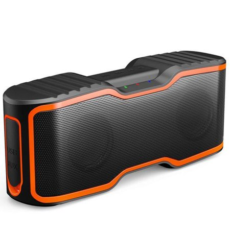AOMAIS Sport II Portable Wireless Bluetooth Speakers 4.0 Waterproof IPX7, 20W Bass Sound, Stereo Pairing, Durable Design Backyard, Outdoors, Travel, Pool, Home Party