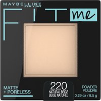 Maybelline Fit Me Matte + Poreless Pressed Face Powder Makeup, 0.29 oz.