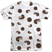 Moon Pie Sporadic Moon Pies (Front Back Print) Mens Sublimation Shirt