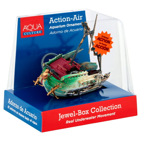 Aqua Culture Jewel-Box Collection Moving Aquarium Ornament