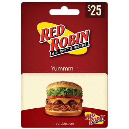 Red Robin  25 Gift Card