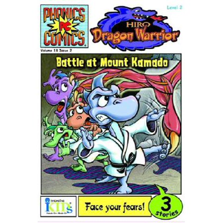 Phonic Comics: Hiro: Dragon Warrior: Battle at Mount Kamado - Level 2 (Paperback)](Dragon City Halloween Battle Map)