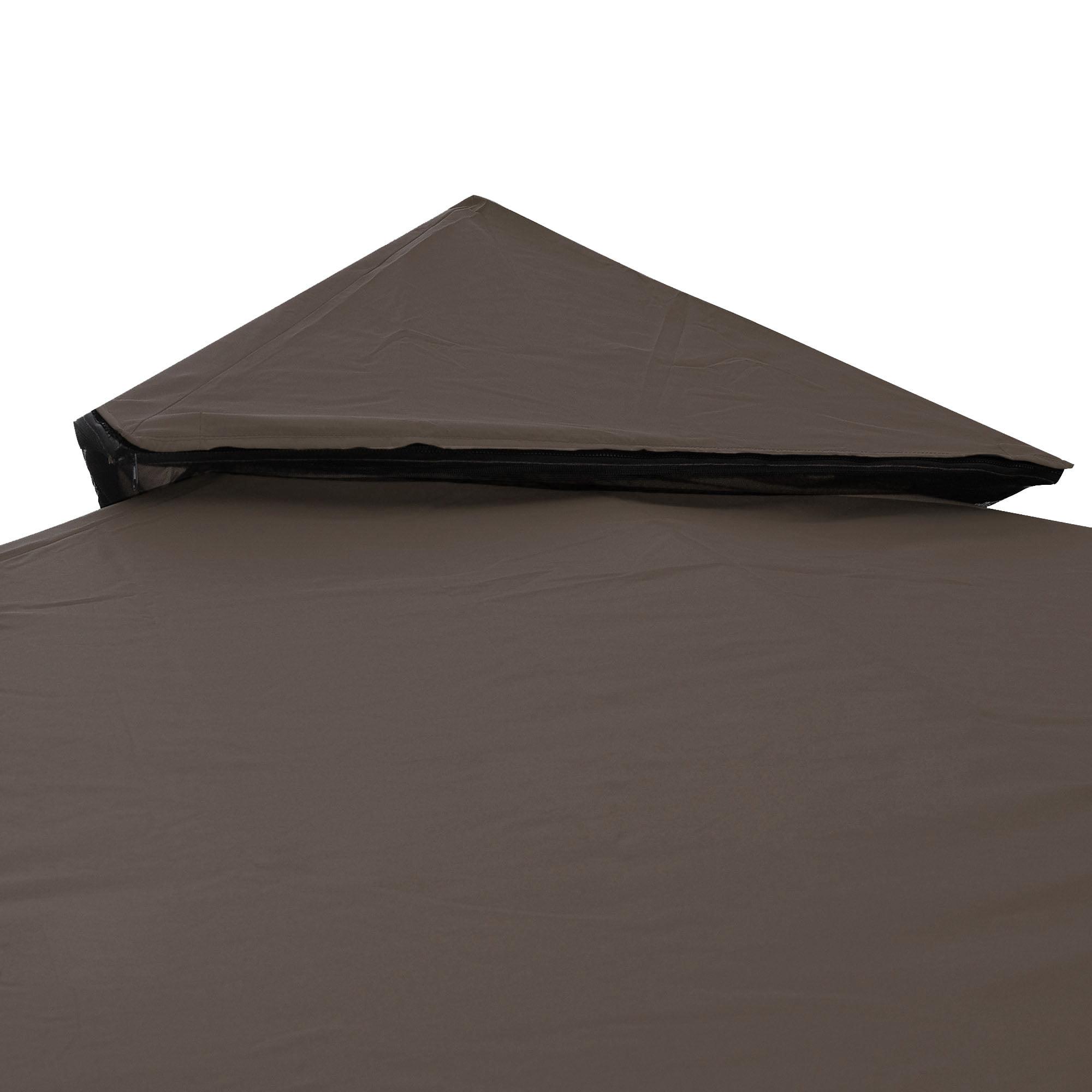 Yescom 8u0027x8u0027 Gazebo Top Canopy Replacement 2 Tier UV30+ 200g/sqm Outdoor Patio Garden Cover - Walmart.com  sc 1 st  Walmart.com & Yescom 8u0027x8u0027 Gazebo Top Canopy Replacement 2 Tier UV30+ 200g/sqm ...
