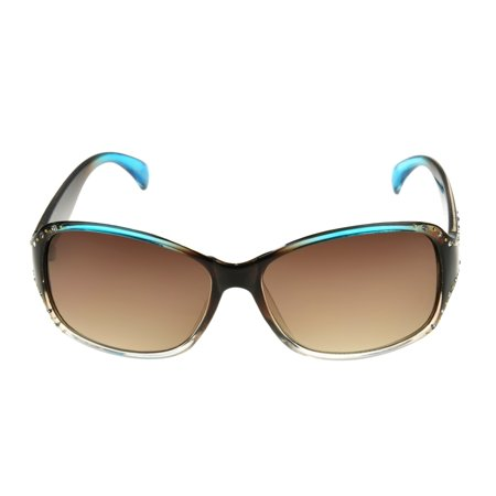 Foster Grant Women's Brown Square Sunglasses H07