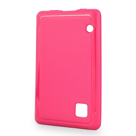 new arrival 5e62c 3d925 Onn Protective Gel Case For RCA Voyager III, Pink
