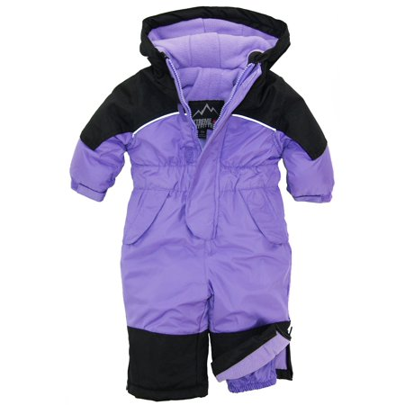 32d230d5a13a iXtreme - iXtreme Baby Toddler Girls  1Pc Snowmobile Winter Snowsuit ...