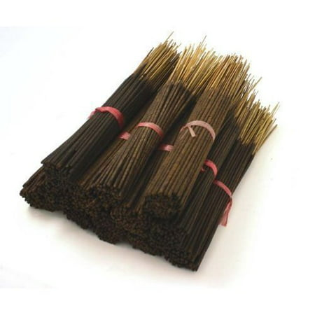 Sandalwood Natural Incense Sticks - 85-100 Stick Bulk Pack - Hand Dipped, 60 Minute Burn, 11 Inches Long ()