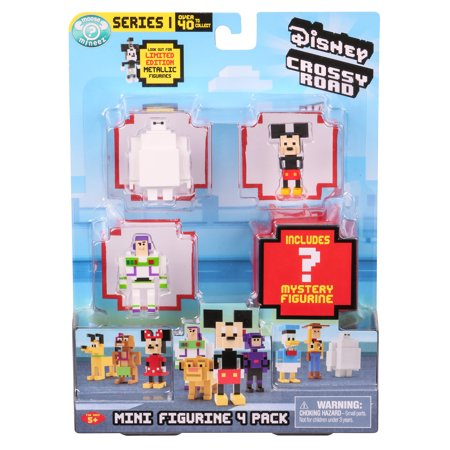 Disney Crossy Road S2 Mini Figures 4 - Crossy Road Characters Halloween
