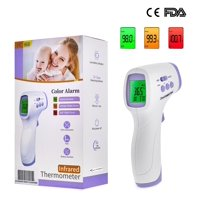 Pacom Brand Name High Speed Non Contact Digital Thermometer Scanner Gun, Body & Surface Setting, High Speed Non Touch Reading