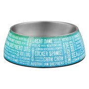 Loving Pets Milano Breeds Of The World Bowl Large, 1.0 CT