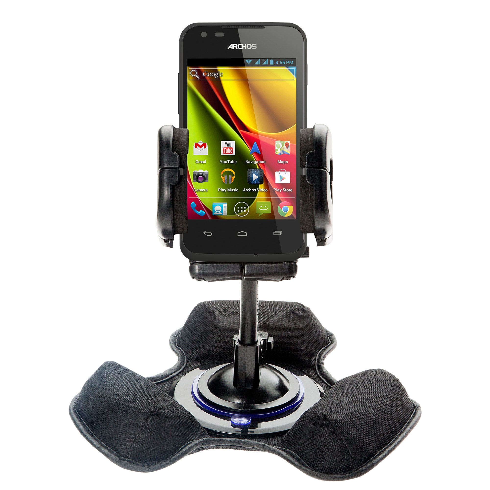 Car   Truck Vehicle Holder Mounting System for Archos 50   53 Platinum Includes Unique Flexible Windshield Suction and... by