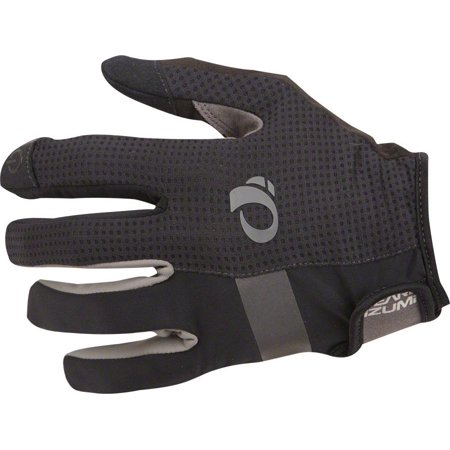 (Pearl Izumi Elite Gel Men's Full Finger Glove: Black XL)