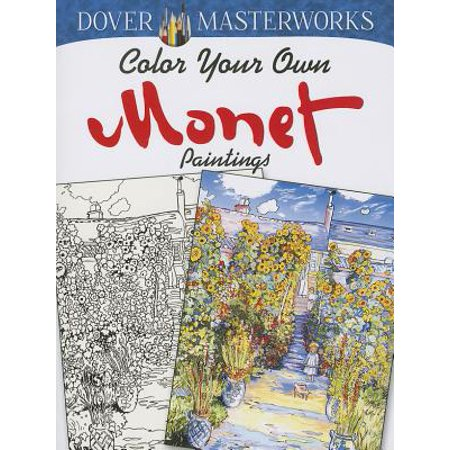Color Your Own Monet Paintings](Painting Your Body For Halloween)