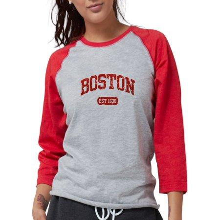 dd6669ff CafePress - CafePress - Boston EST 1630 Long Sleeve T Shirt - Womens Baseball  Tee - Walmart.com