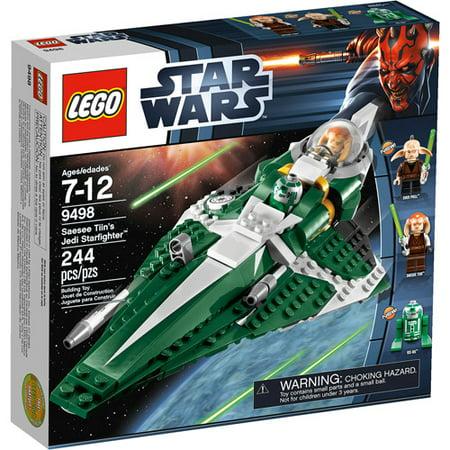 Lego Star Wars Saesee Tiins Jedi Starfighter Play Set