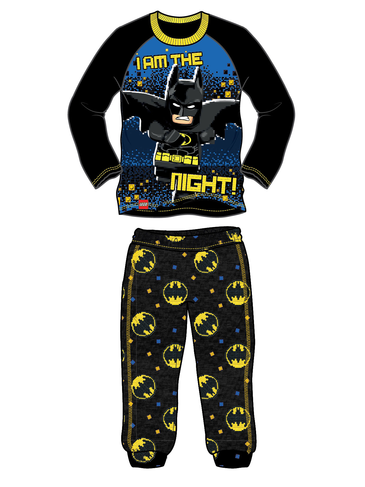 Isaac Morris Boys Batman Short Sleeve Rash Guard Shirt