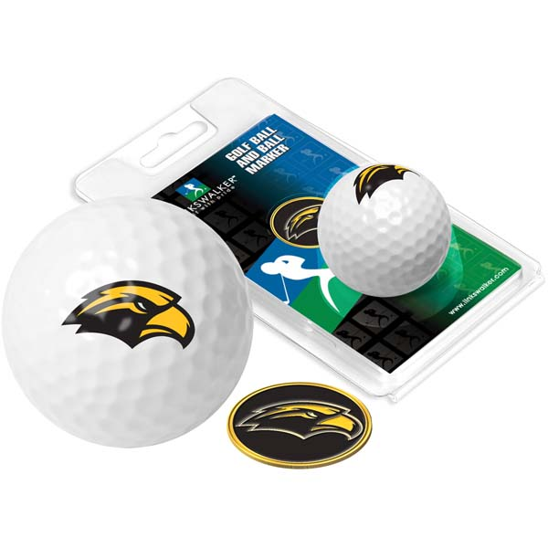 Southern Miss Golf Ball One Pack with Marker