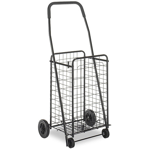 Whitmor Deluxe Rolling Utility Cart, Black