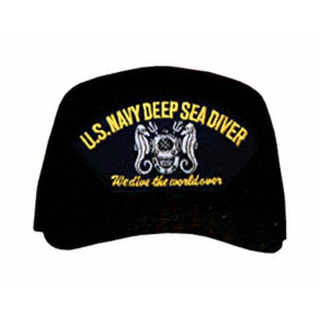 Navy Deep Sea Diver - U.S. Navy Deep Sea Diver with Helmet Ball Cap