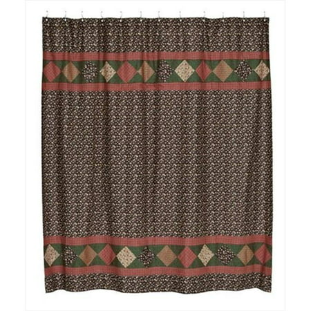 vhc brands 5880 72 x 72 inch berkshire shower curtain. Black Bedroom Furniture Sets. Home Design Ideas