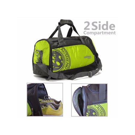 c82f7ddcb6 Clearance 26L Large Nylon Sports Duffel Bags Shoulder Bag Backpack Handbag  Carry Tote Gym Bag Duffel Travel Hiking Satchel Training Gym 4 Colors -  Walmart. ...