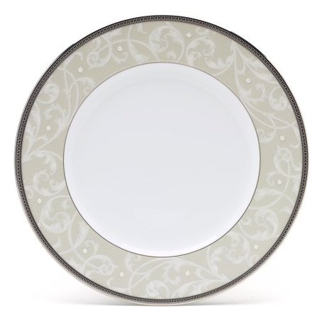 Noritake Satin Lace Accent Plate, 9inches ()