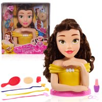 Disney Princess Deluxe Belle Styling Head, Ages 3+