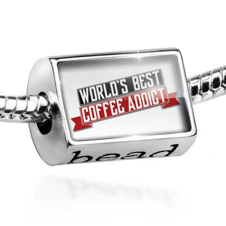 Bead Worlds Best Coffee Addict Charm Fits All European