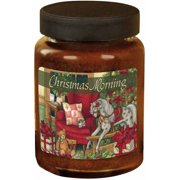 LANG Christmas Morning 26-Ounce Jar Candle, Scented with Cinnamon, Spice and Everything Nice