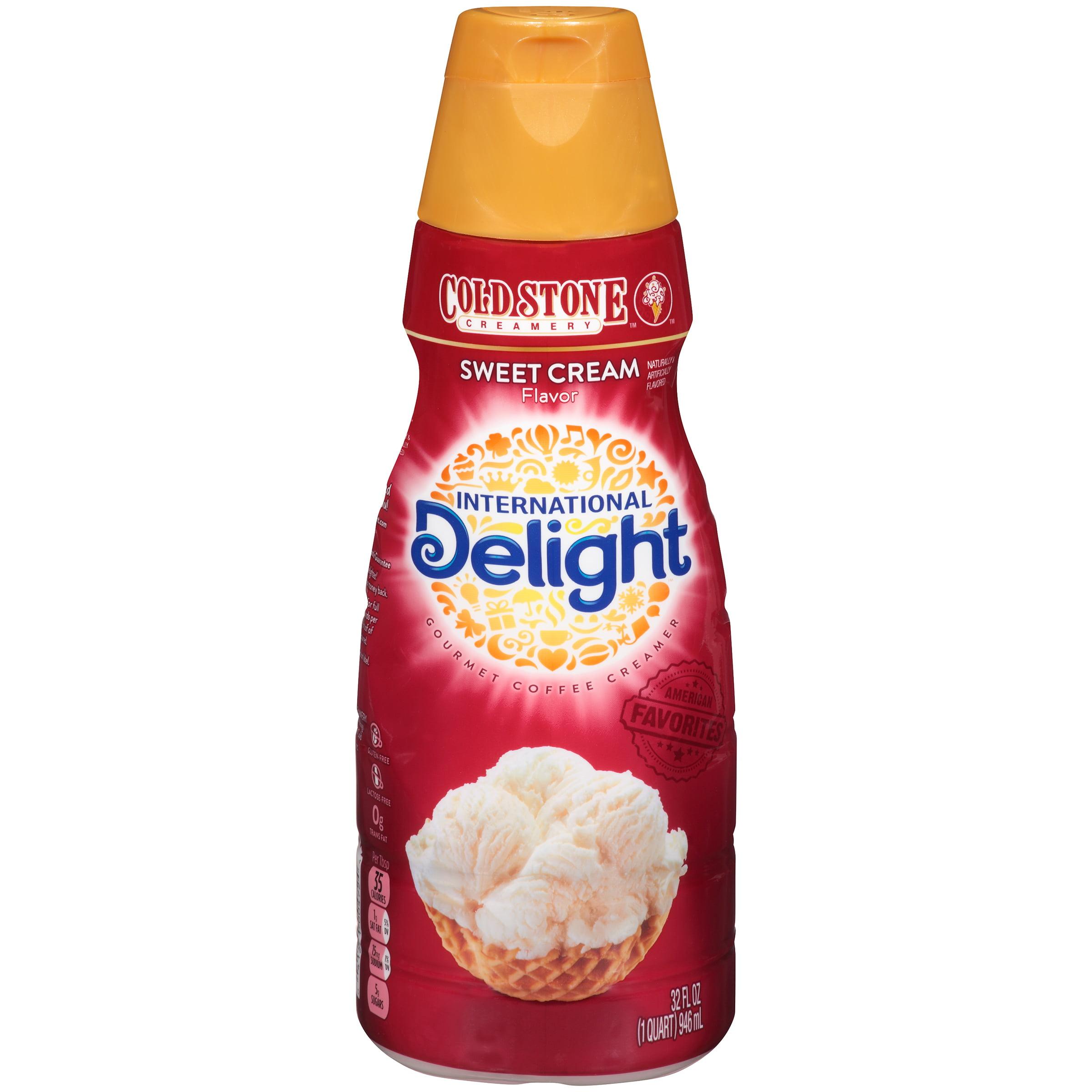 International Delight Cold Stone��� Creamery Sweet Cream Flavor Gourmet Coffee Creamer 32 fl. oz. Bottle