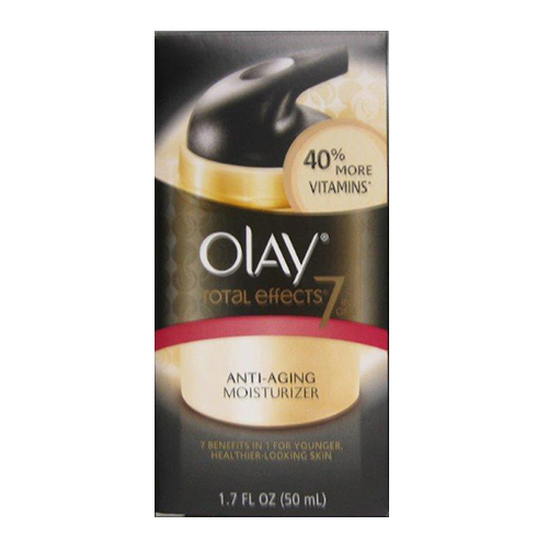 Olay Total Effects 7X Visible Anti Aging Vitamin Complex, Regular - 1.7 Oz, 2 Pack